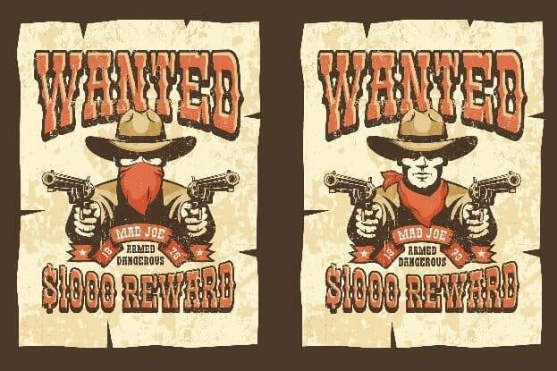 Black Hat 2021 Wanted posters for ransomware slingers